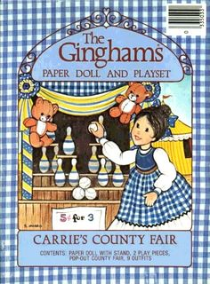The Gingham - Carrie's County Fair - (CL for 1 doll & clothes) #P-1-6