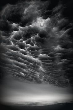 Stunning cloud formations