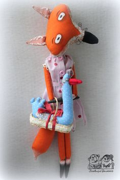 "Interior Toy ""Fox"" by milyedurashki on Etsy"