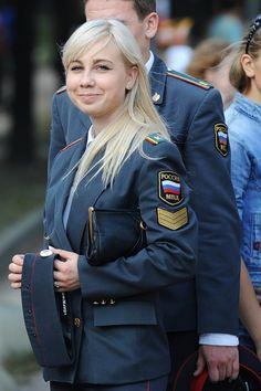 russian military women