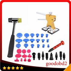 ==> [Free Shipping] Buy Best PDR Tools Paintless Dent Repair Tools Glue Dent Tabs Hammer Knock Down Pen Hand Tool Set for Car Tool Herramentas PDR Toolkit Online with LOWEST Price | 32809445628
