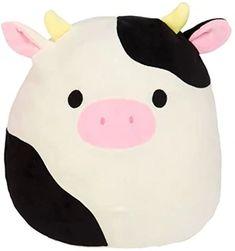 Kawaii Plush, Cute Plush, Cow Colour, Pillow Pals, Cute Squishies, Cute Stuffed Animals, Animal Birthday, Birthday List, 11th Birthday