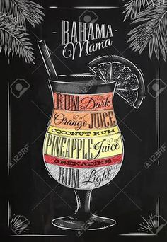 Image result for typography pina colada