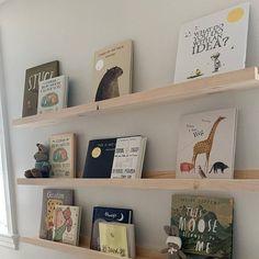 Set of 2 Floating Picture Ledges Floating Shelves Art Picture Shelves, Picture Ledge, Rustic Wooden Shelves, Book Ledge, Floating Bookshelves, Baby Boy Rooms, Baby Boy Nurseries, Kids Rooms, Kid Spaces
