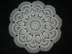 Ravelry: Pink Pineapple Doily pattern by American Thread Company