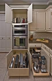 kitchen island organization - Google Search