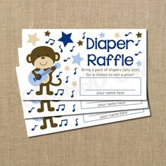 Hey, I found this really awesome Etsy listing at https://www.etsy.com/listing/128065523/rockstar-monkey-baby-shower-diaper
