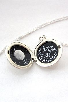 Yes, this tiny locket is hand-painted. And yes, it makes a great gift.