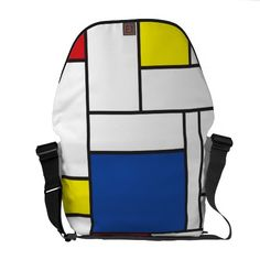 アートなあなたのための メッセンジャーバッグ。#zazzle #バッグ