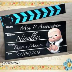 Boss Birthday, Baby Boy 1st Birthday Party, Baby Party, Birthday Party Themes, Boss Baby, First Birthdays, Gabriel, Milan, Baby Shower