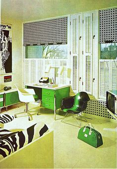 60's room From The Practical Encyclopedia of Good Decorating and Home Improvement.