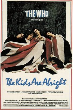 An original one-sheet movie poster x from 1979 for The Kids Are Alright. Certificate of Authenticity (COA) included. Cinema Posters, Band Posters, Concert Posters, Movie Posters, Rock N Roll Music, Rock And Roll, Peter Townshend, Music Documentaries, Musica