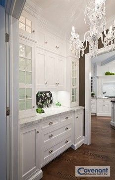 10 Butler's Pantry Ideas - Town & Country Living - Covenant Kitchen & Baths, Inc.