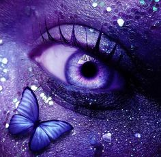 All Things Purple♥ / Butterfly Embrace Purple Love, Purple Hues, All Things Purple, Shades Of Purple, Purple And Black, Pink Purple, Purple Stuff, Foto Fantasy, Fantasy Art