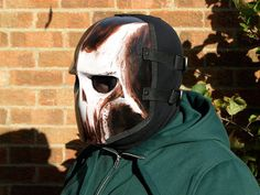 Army of Two v2 Style Airsoft Mask White Skull 2 by HiddenAssassins, £62.00