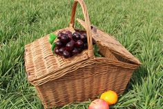 2015 New can be customized white wicker picnic basket
