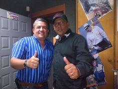 recibiendo la visita de Jaime Balza en las instalaciones de @llanerisima1065 FM