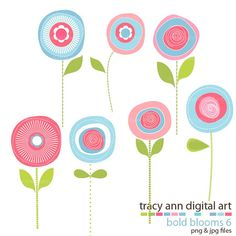 Soft and Pretty Summer Blooms commercial by TracyAnnDigitalArt