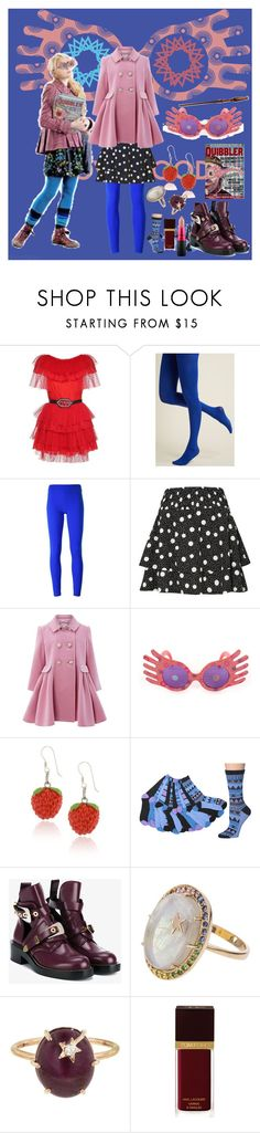 """Luna Lovegood"" by onceharrypotterdisneyfan ❤ liked on Polyvore featuring MSGM, Luna, No Ka'Oi, Topshop, Monsoon, Elope, Balenciaga, Andrea Fohrman, Tom Ford and MAC Cosmetics"