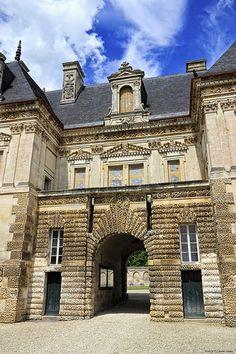 château de Tanlay. Bourgogne