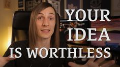 """Your real problem isn't protecting your """"precious"""" idea, it's getting people to notice you. http://seanwes.tv/53"""