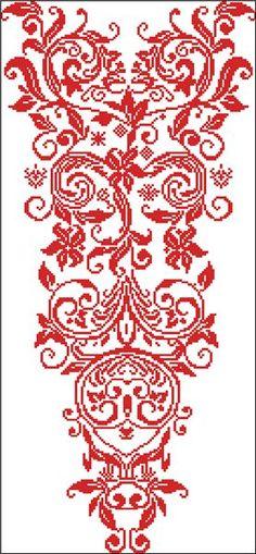 Схема вышивки крестиком. купить в Львове и Украине за 100 f2870fcdd686e
