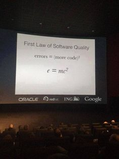 First Law of Software Quality :) humor, Computer Humor, Computer Coding, Computer Science, Programming Humor, Computer Programming, Python Programming, Engineering Programs, Engineering Humor, Tech Humor
