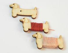 Namotávky na bavlnky – sada 10 ks | DomDom - dřevěné výrobky pro kreativní činnost, didaktické pomůcky, suvenýry Sad, Mini
