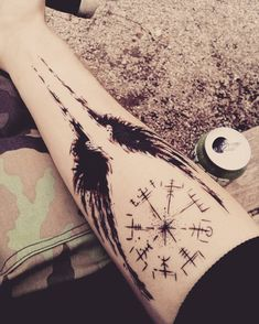 My Valkyrie will set me free! - Top 500 Best Tattoo Ideas And Designs For Men and Women Viking Tattoo Symbol, Norse Tattoo, Viking Tattoos, Celtic Tattoos, Viking Tattoo Sleeve, Forearm Tattoos, Body Art Tattoos, Small Tattoos, Sleeve Tattoos