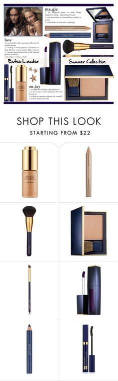 """""""Estee Lauder Summer Collection"""" by rasa-j ❤ liked on Polyvore featuring beauty and Estée Lauder"""