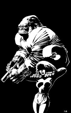 Monkeyman and O'Brien by Frank Miller