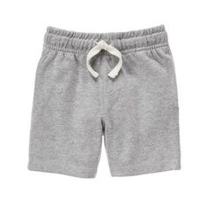 Toddler Boys Heather Grey Knit Shorts by Gymboree
