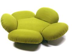 Free Girevole Sofa Blossoms as a Daybed and Retracts as a Recliner #uniquefurniture #differenthomedecor