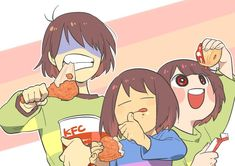 I dont know if i am the only one Who thinks that kris is actually you the player not like when you control frisk or chara :v im Just saying Undertale Comic, Flowey Undertale, Undertale Ships, Undertale Memes, Undertale Fanart, Frisk, Kfc, Toby Fox, Indie Games