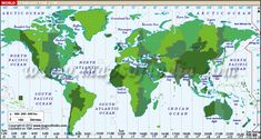 Universal Time Zone Map.Where Do Our Products Come From Education Pinterest Products