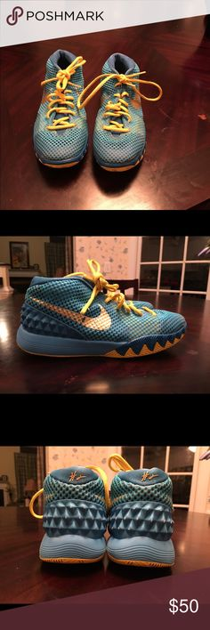 Boys Used kyrie 1 Used Boys Kyrie 1 shoes Authentic Nike Shoes Sneakers