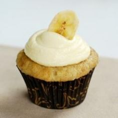 """Banana Cupcakes with Vanilla Pastry Cream -- To end the month of January, which I have dubbed """"Baked"""" month, I present to you these delicious Banana Cupcakes with Vanilla Pastry Cream Frosting. Think Banana Cream Pie in a cupcake...so so good! Thank you and goodbye for now Baked Pastry Shop. There are so many good recipes in your book that I'm sure I'll be back, but I ... <br/><a href=""""http://marzipanmom.blogspot.com/2010/01/banana-cupcakes-with-vanilla-pastry.html"""" target=""""_blank"""" ..."""