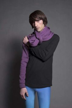 The Sleeve/Scarf by Cubist Literature is Unlike Anything Else #scarf trendhunter.com