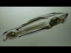 Car Side View Sketch & Design