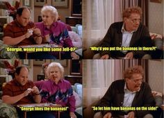 """Bananas   Community Post: 46 Foods That Will Always And Forever Remind You Of """"Seinfeld"""""""
