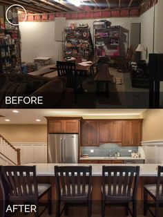 naperville basement before and after remodeling sebring services unfinished basement before after i36 basement
