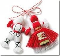 Baba Marta, the March 1 holiday. Children's craft and song.