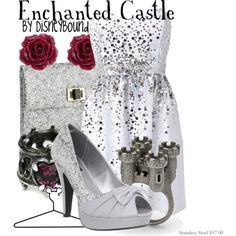 """""""Enchanted Castle"""" by lalakay on Polyvore #disney"""