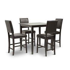 Baxton Studio Love Counter Table Set
