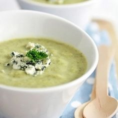 Broccoli & Blue Cheese Soup