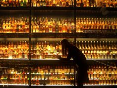 The Diageo Claive scotch whisky collection is the world's largest, with 3,384 individual bottles. The collection is on display at the Scotch Whisky Experience near Edinburgh Castle
