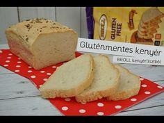 Gluténmentes kenyér BROLL kenyérlisztből - YouTube Banana Bread, Gluten, Facebook, Food, Youtube, Essen, Meals, Yemek, Youtubers