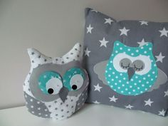 Creative Make A Pillow Or Cushion Ideas. Awe-Inspiring Make A Pillow Or Cushion Ideas. Quilt Baby, Kids Pillows, Throw Pillows, Owl Pillow, Baby Nursery Themes, Baby Room Design, Sewing Pillows, How To Make Pillows, Baby Owls