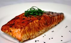 How To Cook Salmon: Teriyaki Grilled Salmon Salmon Dip, Asian Salmon, Honey Salmon, Salmon And Asparagus, Pan Seared Salmon, Grilled Salmon, Baked Salmon, Grilled Fish