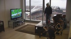 What's it like to live high above CenturyLink Field?
